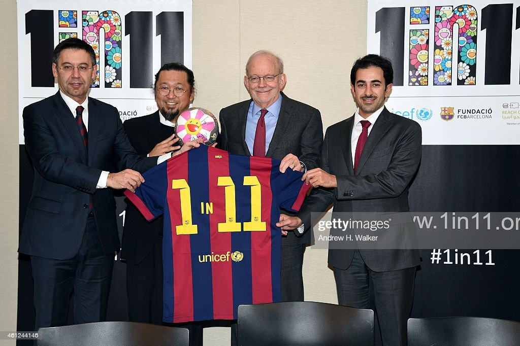 FC Barcelona, Reach Out To Asia And UNICEF Launch 1 In 11 Campaign