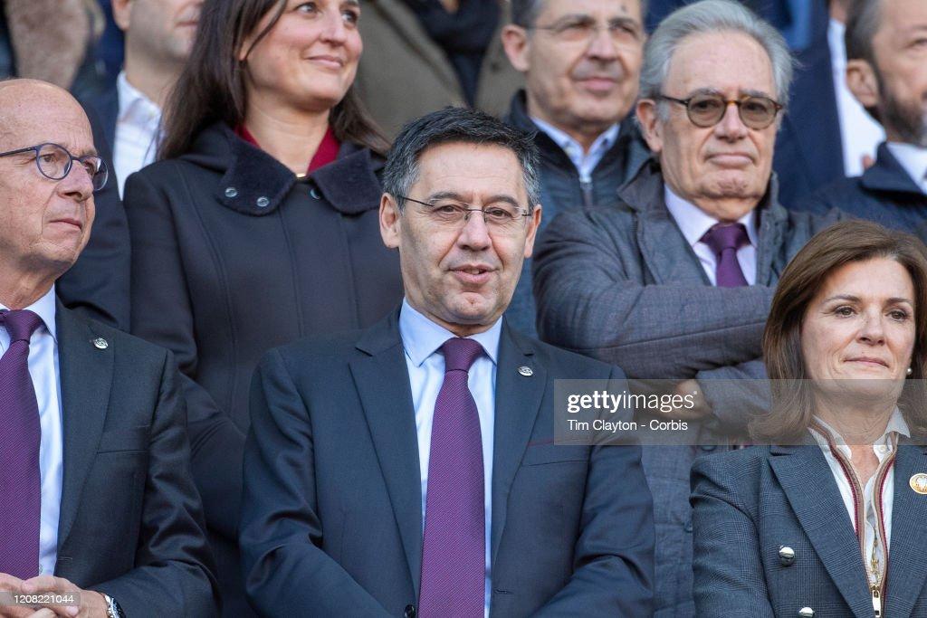 Barcelona V Eibar : News Photo
