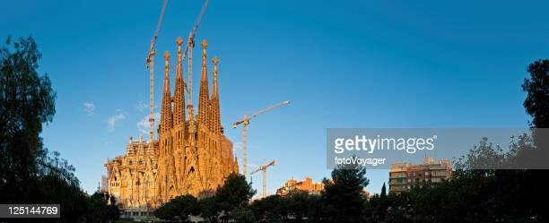 Kathedrale von Barcelona, der Sagrada Familia, Gaudis sunrise Spanien
