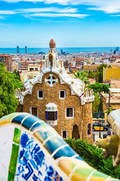 Barcelona Skyline from Park Guell