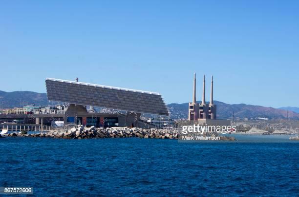 Barcelona solar panel.