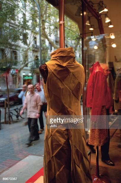 Barcelona Spain Antonio Miro boutique