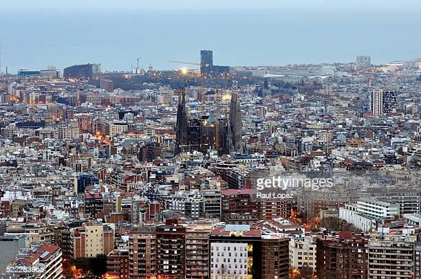 Barcelona Sunrise lights