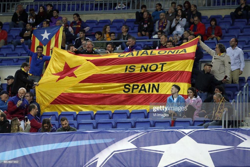 UEFA Champions League'FC Barcelona v Olympiacos' : News Photo