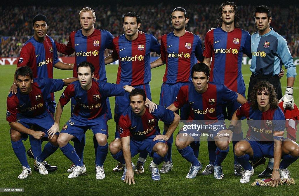 Fc Barcelona Squad In 2006