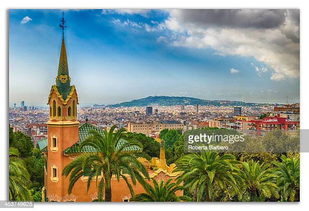 Barcelona vista da Parc Guell