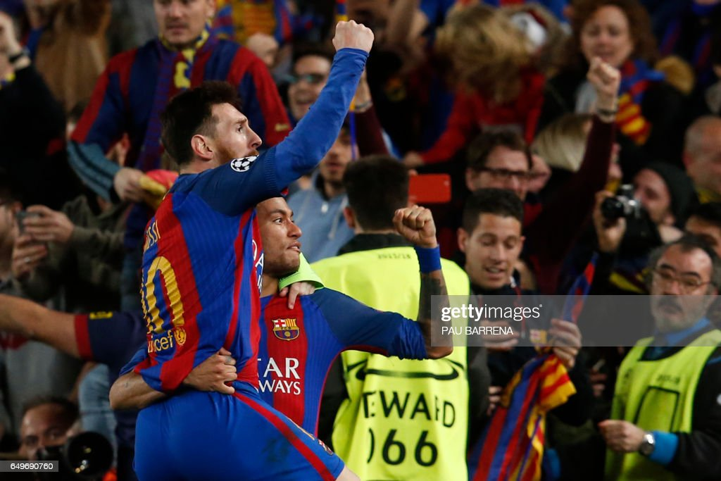 FBL-EUR-C1-BARCELONA-PSG : News Photo