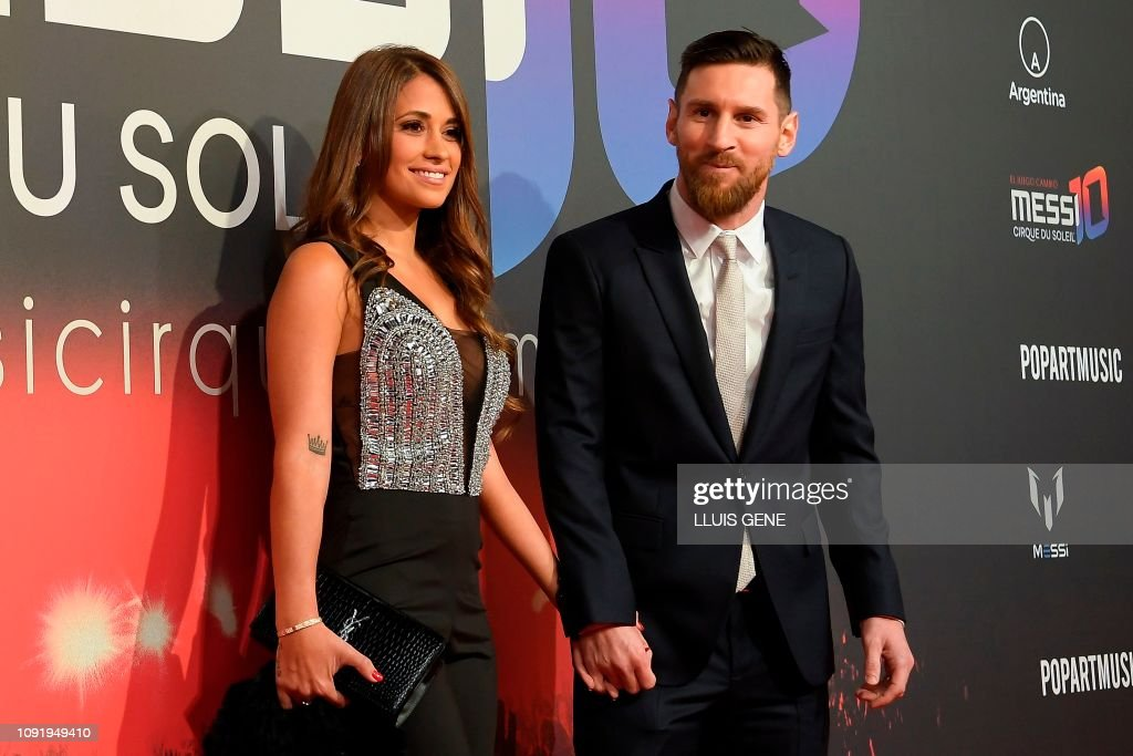 SPAIN-ENTERTAINMENT-FBL-CIRQUE DU SOLEIL-MESSI : News Photo