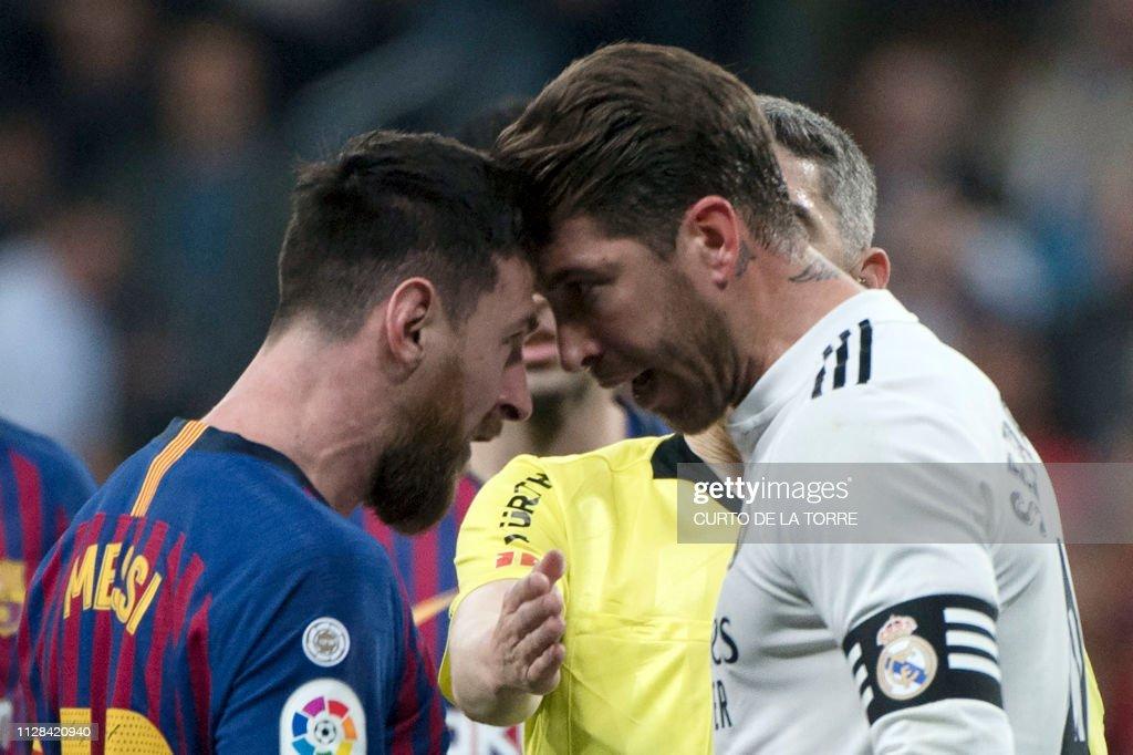 FBL-LIGA-ESP-REAL MADRID-BARCELONA : News Photo