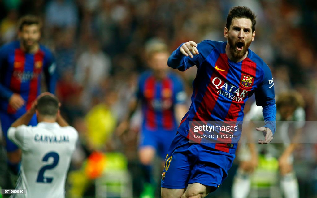 FBL-ESP-LIGA-REALMADRID-BARCELONA : News Photo