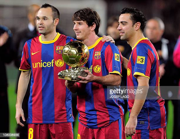 253 Messi Xavi Iniesta Photos And Premium High Res Pictures Getty Images