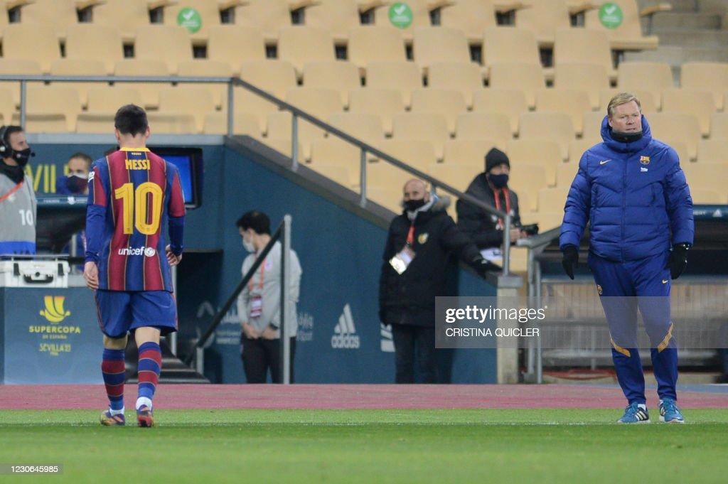 FBL-ESP-SUPER CUP-BARCELONA-ATHLETIC : News Photo