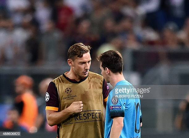 Image result for totti messi
