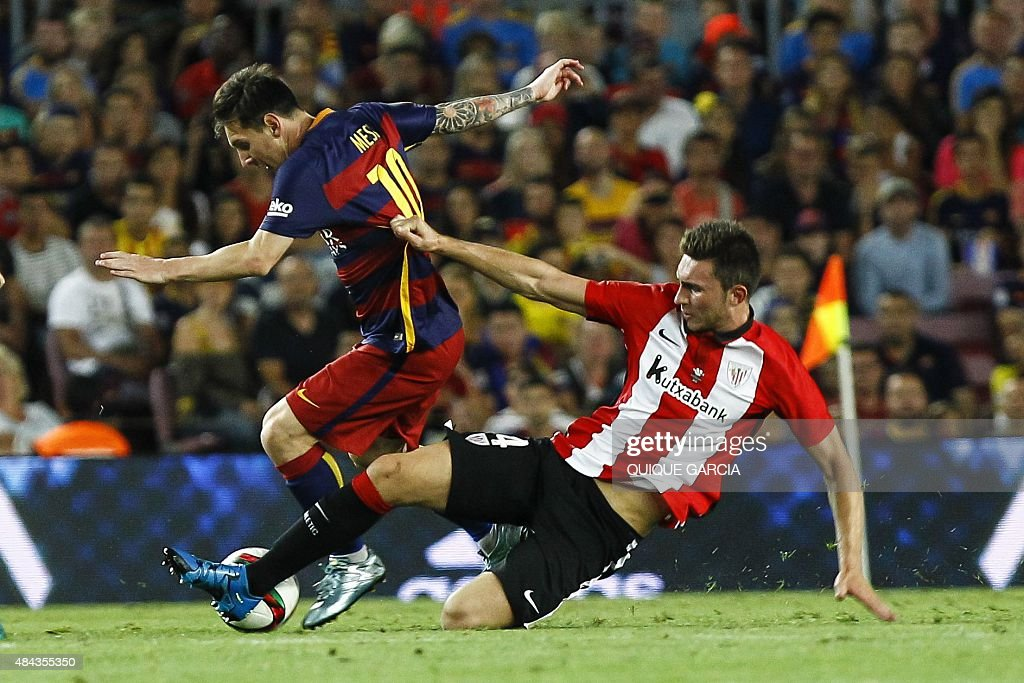 FBL-ESP-SUPERCOPA-BARCELONA-ATHLETIC : News Photo