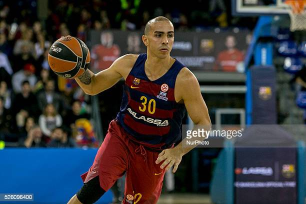 Barcelona Catalonia Spain December 12 Barcelona's Carlos Arroyo in action during the Turkish Airlines Euroleague match between FC Barcelona and...