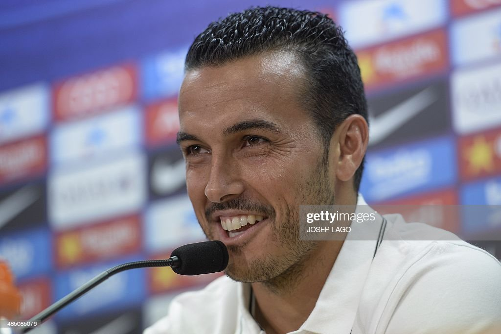 FBL-ESP-LIGA-BARCELONA-PEDRO : News Photo