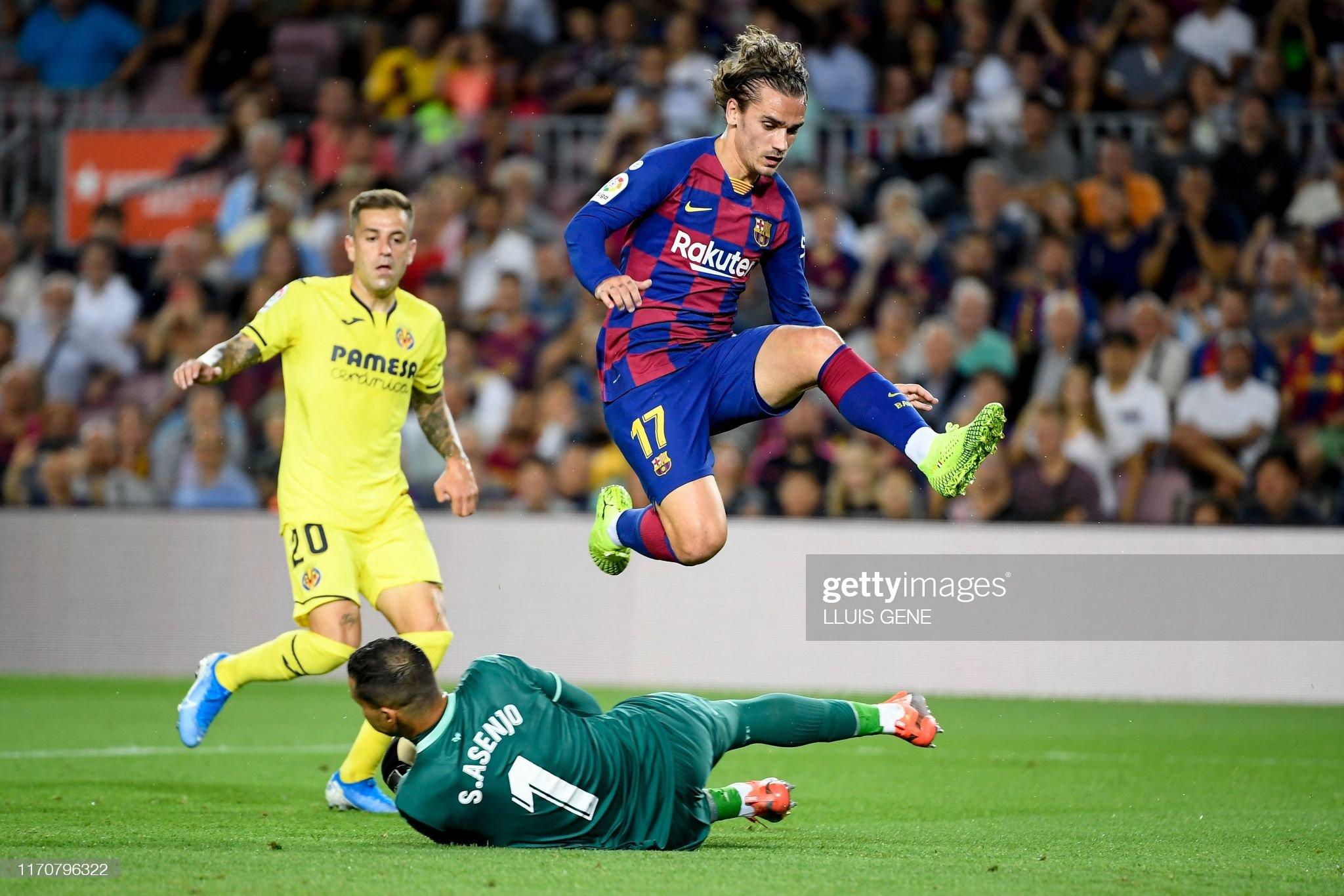 صور مباراة : برشلونة - فياريال 2-1 ( 24-09-2019 )  Barcelonas-french-forward-antoine-griezmann-jumps-over-villarreals-picture-id1170796322?s=2048x2048