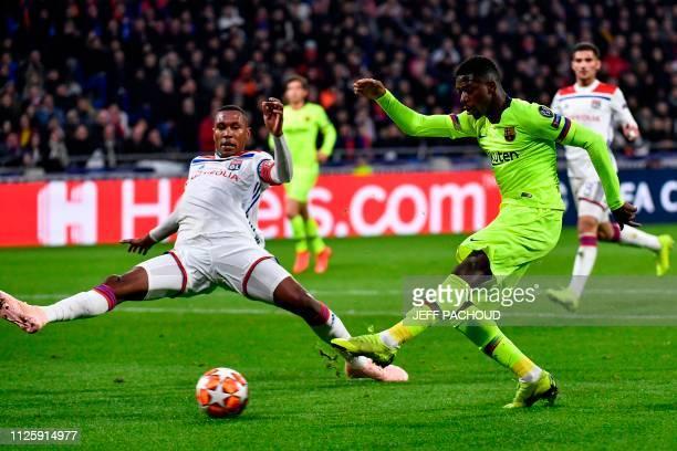 FRA: Olympique Lyonnais v FC Barcelona - UEFA Champions League Round of 16: First Leg