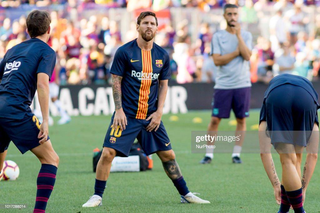 FC Barcelona v Boca Juniors - Joan Gamper Trophy : News Photo