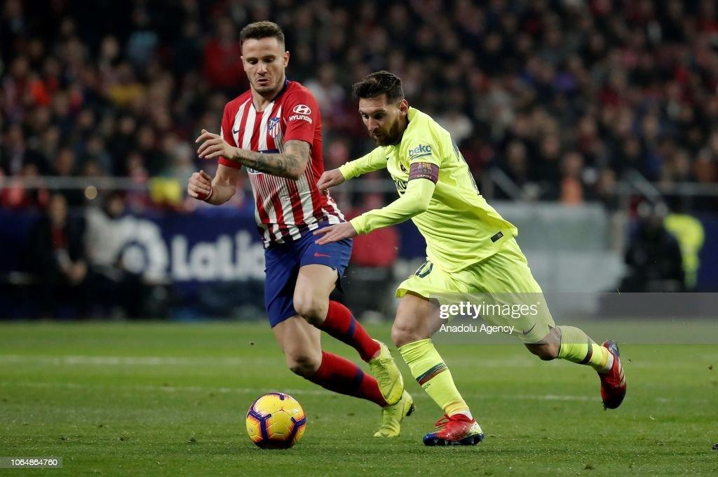 Atletico Madrid vs Barcelona : La Liga : News Photo