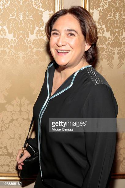 Barcelona's Major Ada Colau attends the 75th Literature Premi Nadal 2019 at El Palace Hotel on January 6, 2019 in Barcelona, Spain.