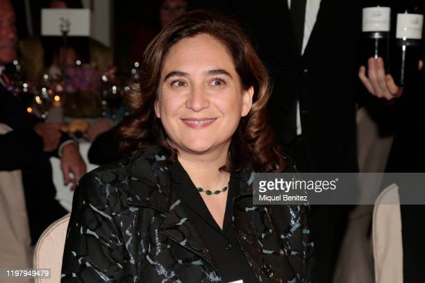 Barcelona's Major Ada Colau attends the 76th Literature Premi Nadal 2020 at El Palace Hotel on January 06, 2020 in Barcelona, Spain.