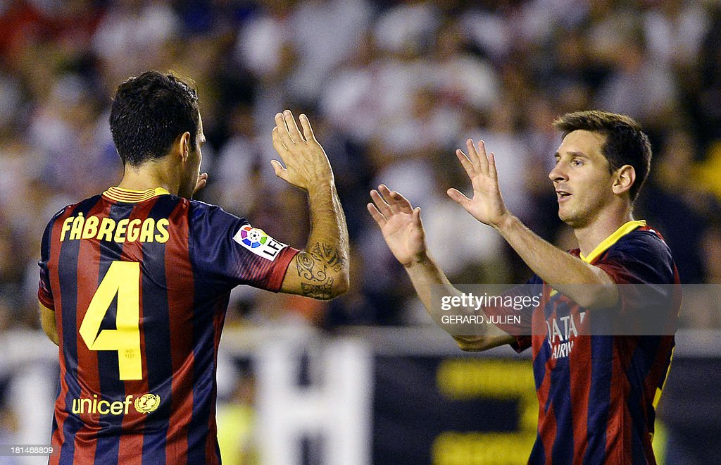 FBL-ESP-LIGA-RAYO-BARCELONA : News Photo