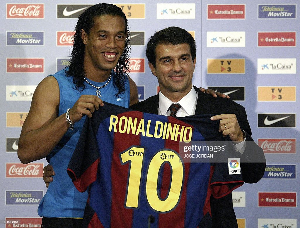 Barcelona's new Brazilian soccer star Ro : News Photo
