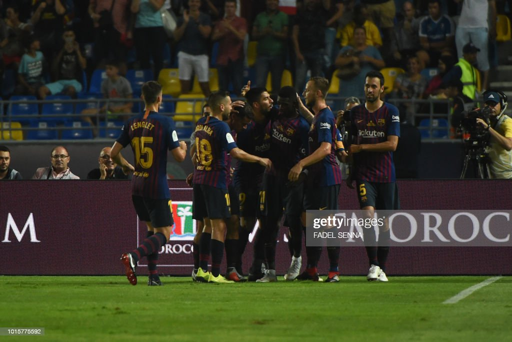 FBL-ESP-SUPERCUP-BARCELONA-SEVILLA : News Photo