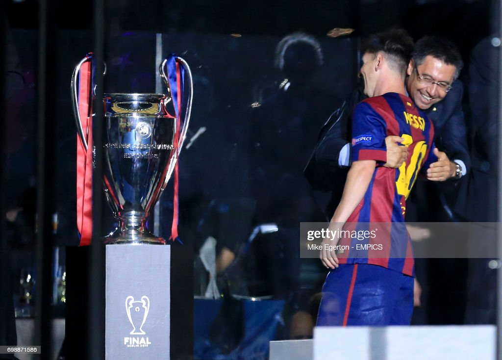 Soccer - UEFA Champions League - Final - Juventus v Barcelona - Olympiastadion : News Photo