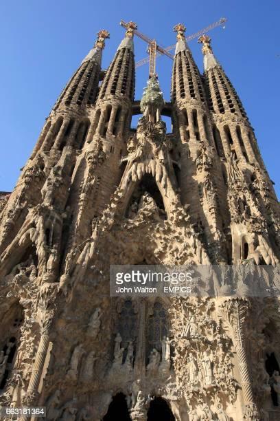 Barcelona's Sagrada Familia cathedral