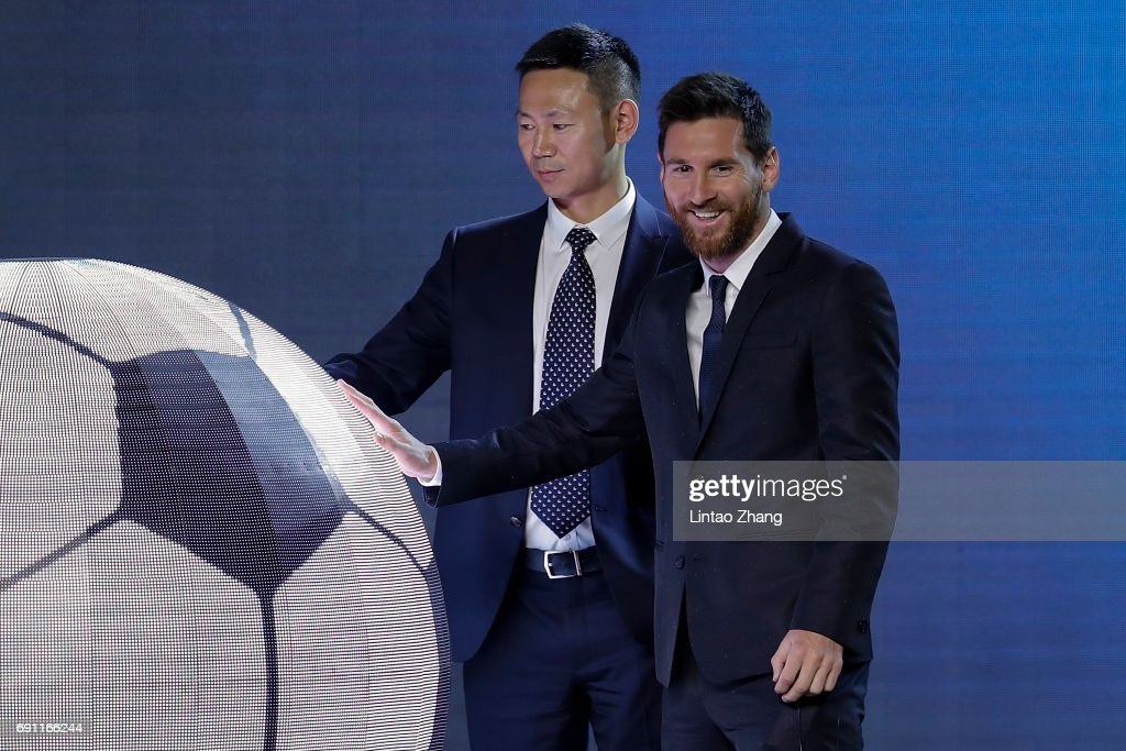 2017 Lionel Messi China Tour : Nieuwsfoto's