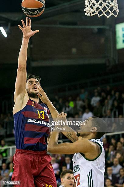 Barcelona Catalonia Spain December 12 Barcelona's Tomas Satoransky in action during the Turkish Airlines Euroleague match between FC Barcelona and...