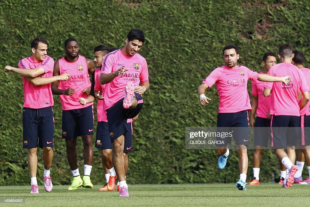 FBL-ESP-LIGA-BARCELONA : News Photo