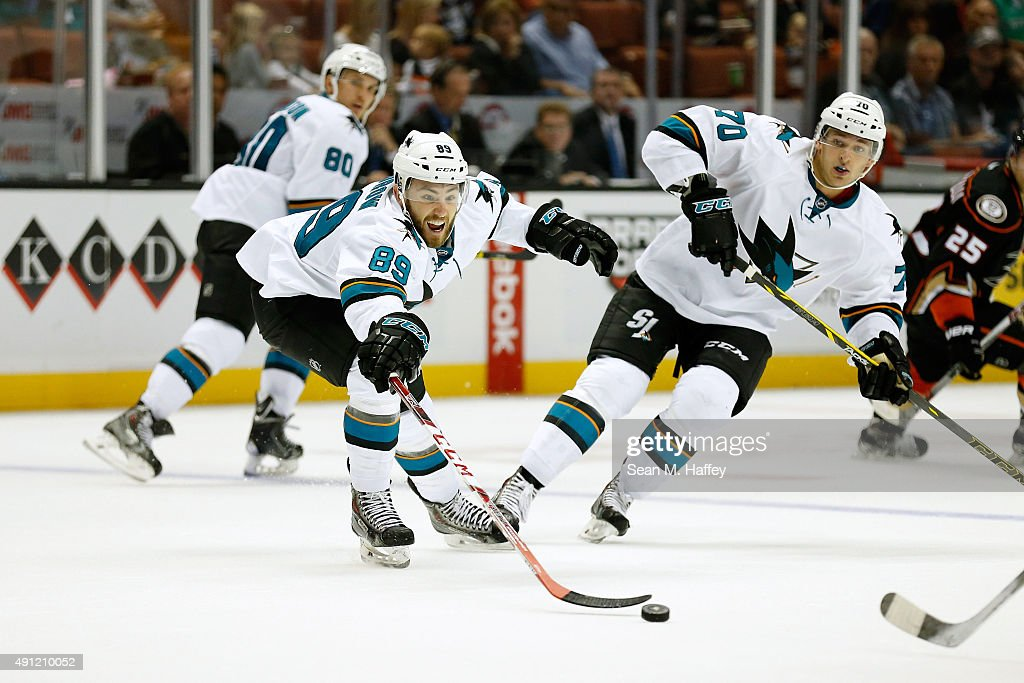 San Jose Sharks v Anaheim Ducks : News Photo