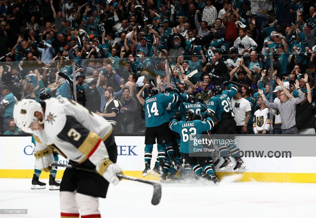 Vegas Golden Knights v San Jose Sharks - Game Seven : News Photo