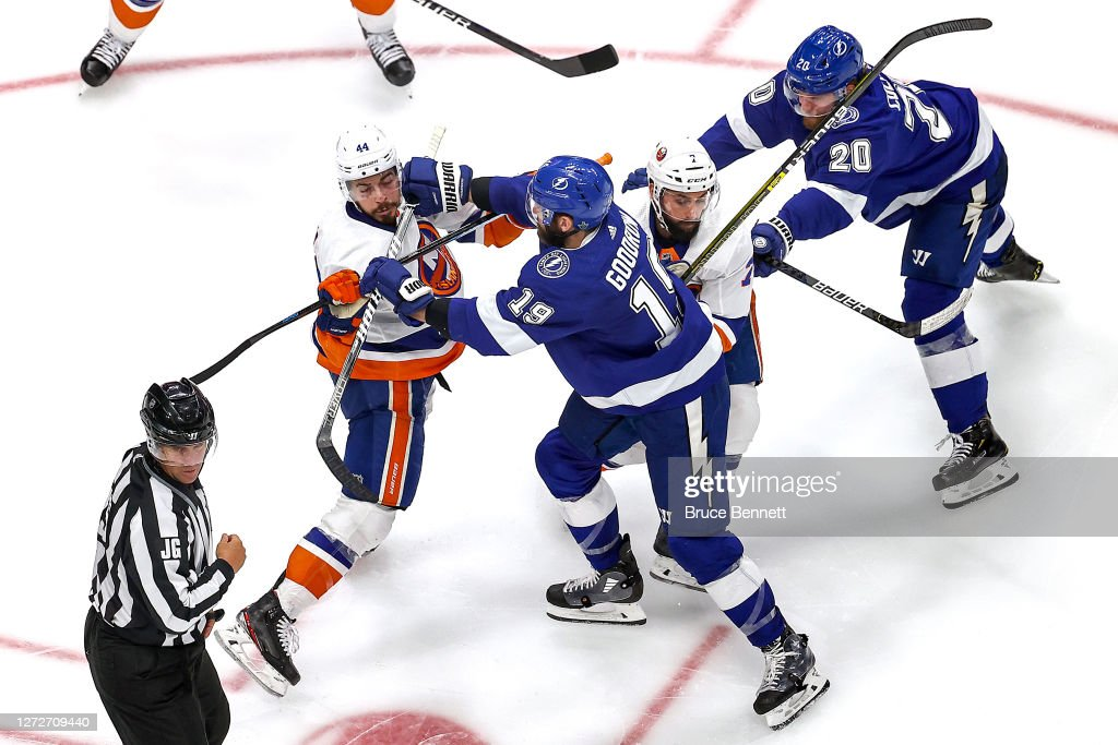 New York Islanders v Tampa Bay Lightning - Game Five : News Photo