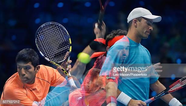 Barclays ATP World Tour Finals 02 Arena London UK Doubles FINAL Rohan Bopanna IND Florin Mergea ROU v Horia Tecau ROU JeanJulien Rojer NED The match...