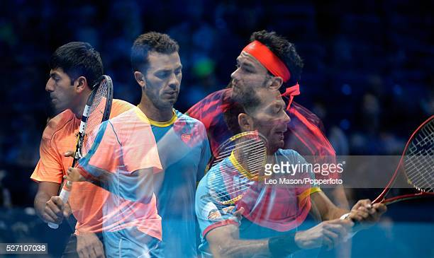 Barclays ATP World Tour Finals 02 Arena London UK Doubles FINAL Rohan Bopanna IND Florin Mergea ROU v Horia Tecau ROU JeanJulien Rojer NED The match...
