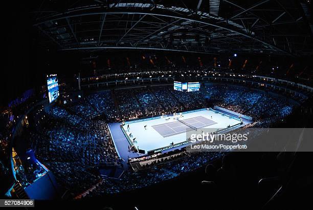 Barclays ATP World tour Finals at the 02 Arena London UK Rafael Nadal v Stanislas Wawrinka General view of the 02 Arena