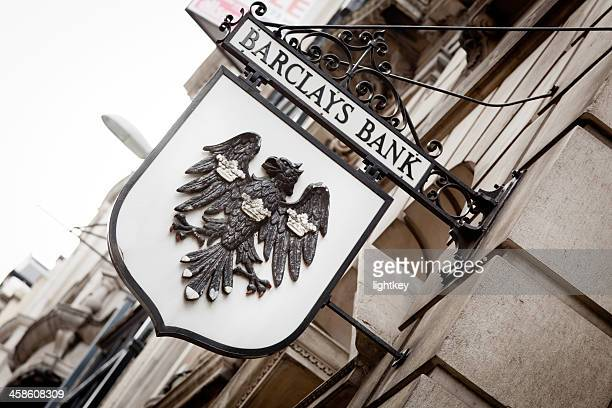 barclays bank - barclays brand name stock photos and pictures