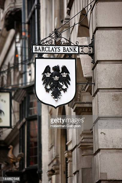 Barclays Bank Sign London