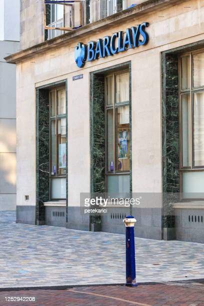 barclays bank - uk - barclays brand name stock pictures, royalty-free photos & images