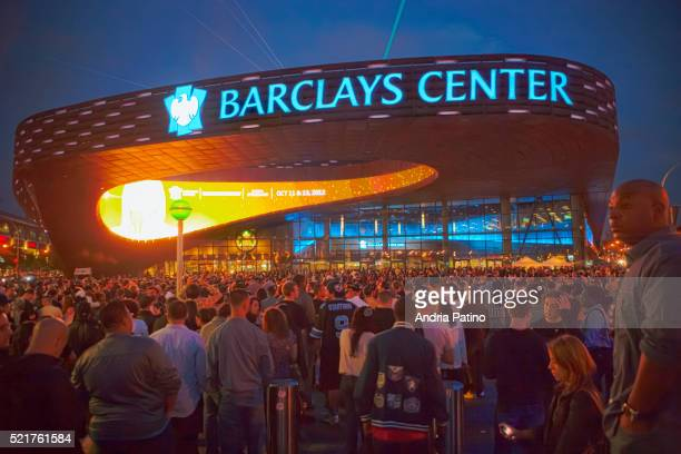 barclays center, brooklyn - barclays center brooklyn stock pictures, royalty-free photos & images