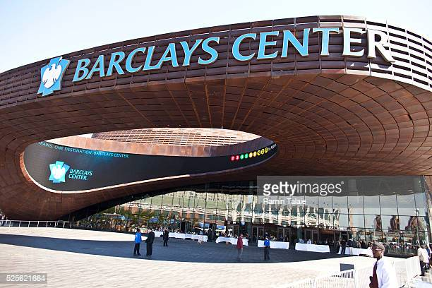 Barclays Center the new home to NBA's Brooklyn Nets is set to open next week in Downtown Brooklyn in New York Friday September 21 2012 The stadium...