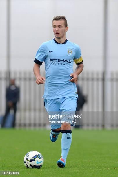 Barclays Premier Academy League Manchester City U18 v Manchester United U18 Platt Lane Bersant Celina Manchester City