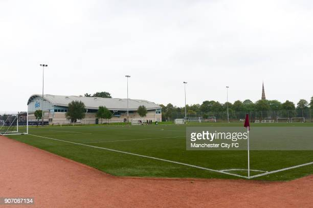Barclays Premier Academy League, Manchester City U18 v Manchester United U18, Platt Lane, A general view of Platt Lane training facility before the...