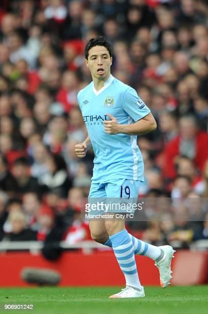 Barclays Premier League Arsenal v Manchester City Emirates Stadium Samir Nasri Manchester City