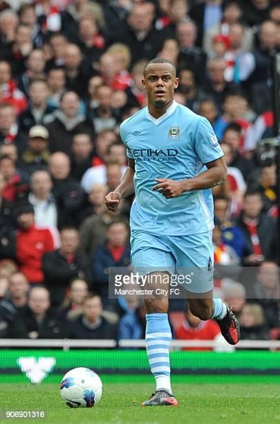 Barclays Premier League Arsenal v Manchester City Emirates Stadium Vincent Kompany Manchester City
