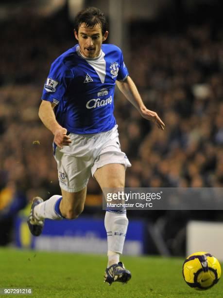 Barclays Premier League Everton v Manchester City Goodison Park Leighton Baines Everton